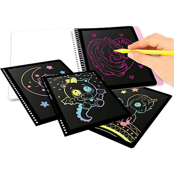 Ylvi & the Minimoomis Magic Scratch Book