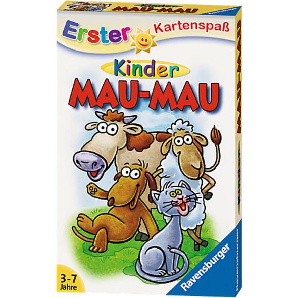 Erster Kartenspaß: Kinder Mau-Mau