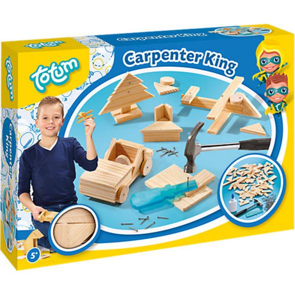 Holzbausatz Carpenter King