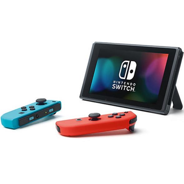Nintendo Switch Konsole Neon-Rot/Neon-Blau (neue Edition)