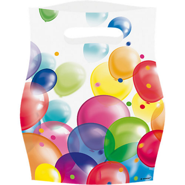 Partytüten Ballons, 8 Stück