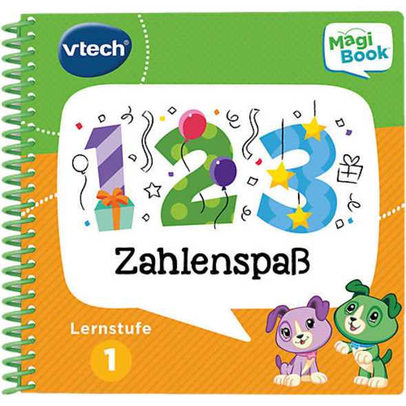 MagiBook Lernbuch, Lernstufe 1 - Zahlenspaß