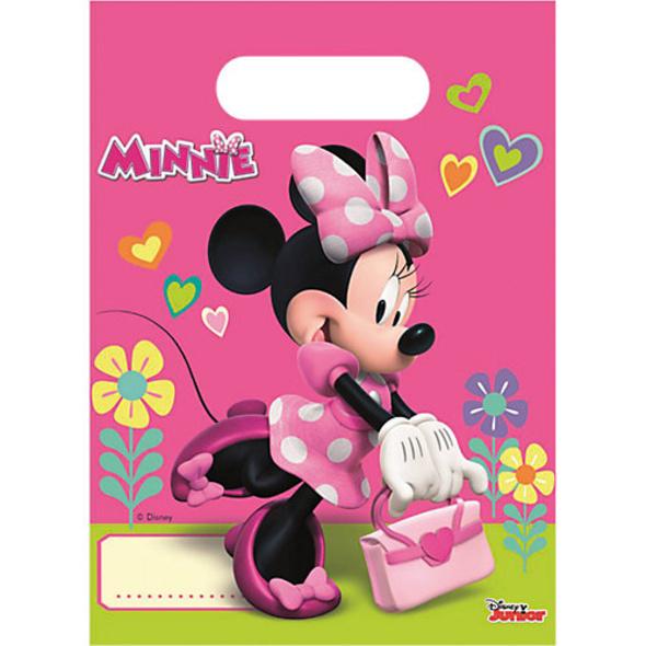 Mitgebseltüten Minnie Happy Helpers, 6 Stück