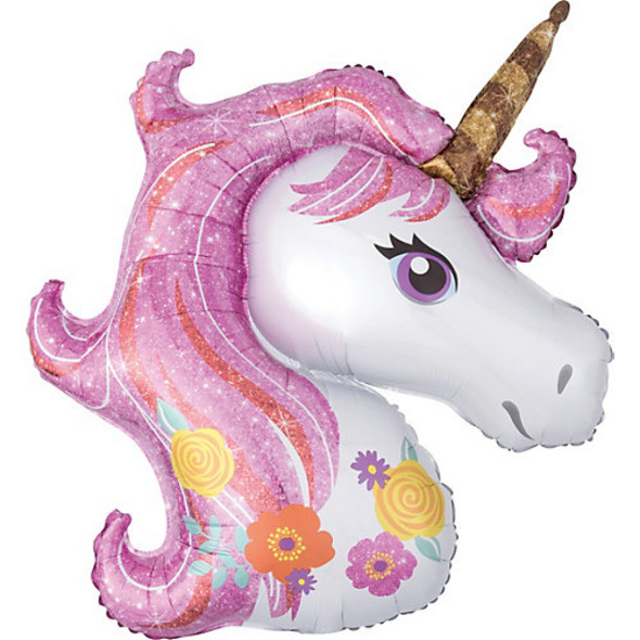 Folienballon SuperShape Magical Unicorn