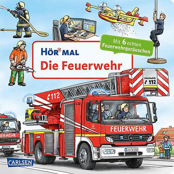 Hör mal: Die Feuerwehr, Soundbuch mit Geräuschen