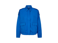 Boxy-Jacke aus Baumwollstretch - Jacke