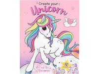 Ylvi Create your Unicorn Malbuch