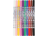 TOPModel Magic-Doppelfasermaler, 10 Farben