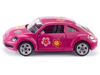 VW The Beetle pink