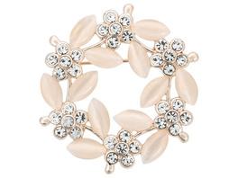 Brosche - Crystal Flower