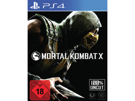 Warner Interactive Mortal Kombat X (USK-Version 100% UNCUT)