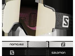 Salomon S/VIEW SIGMA Bk/Sol BlackGold Skibrille