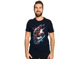 Deadpool - Attack T-Shirt blau