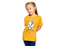 Harry Potter - Magical Hufflepuff T-Shirt Kinder gelb