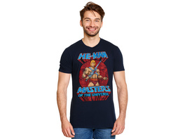 Masters of the Universe - He-Man Pose T-Shirt blau