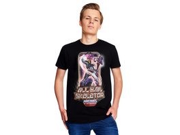 Masters of the Universe - All Hail Skeletor T-Shirt schwarz
