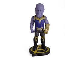 Avengers - Thanos Head Knockers Wackelkopf-Figur Deluxe