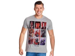 Avengers - Endgame Character Portraits T-Shirt grau