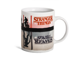 Stranger Things - Upside Down Thermoeffekt Tasse