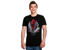 Assassins Creed - Eagle Dive T-Shirt schwarz
