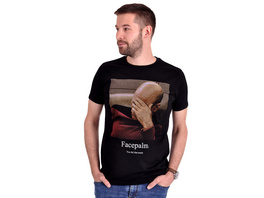 Star Trek - Picard Facepalm T-Shirt schwarz