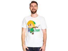 Zelda - Links Awakening T-Shirt weiß