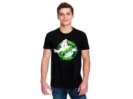 Ghostbusters - Slime Logo T-Shirt schwarz