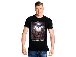 Ghostbusters - Marshmallow Man T-Shirt schwarz