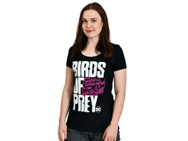 Birds of Prey - Logo T-Shirt Damen schwarz