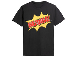 The Big Bang Theory - Bazinga T-Shirt schwarz