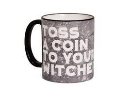 Toss a Coin Tasse für Witcher Fans