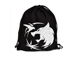Wolf Emblem Sportbag für Witcher Fans schwarz