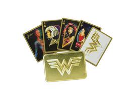 Wonder Woman Spielkarten in Metallbox