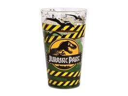 Jurassic Park - Danger High Voltage Glas