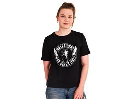 Maleficent - Bad Vibes Only T-Shirt Damen schwarz