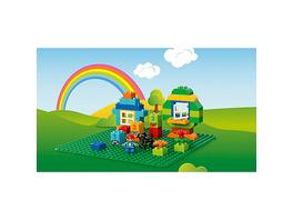 LEGO 2304 DUPLO: Große Bauplatte, grün