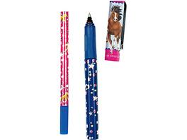 Schreibset Pferdefreunde (Tintenroller+Tintenlöscher-Set)