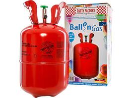 Ballongas/Heliumtank für bis zu 30 Ballons