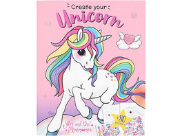 Ylvi Create your Unicorn Malbuch