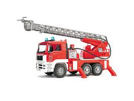 BRUDER 02771 TPS MAN Feuerwehr m. Drehleiter, Licht und Sound