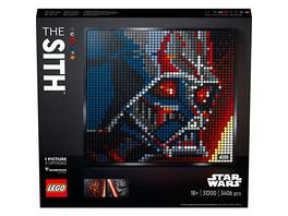 LEGO® ART 31200 Star Wars™: Die Sith – Kunstbild