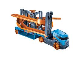 Hot Wheels Mega Action Transporter für 20 1:64 Spielzeugautos, inkl. 1 Spielauto