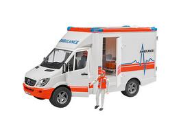 BRUDER 02536 Mercedes Benz Sprinter Ambulanz - Krankenwagen