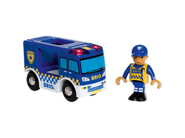 Polizeiwagen mit Licht und Sound