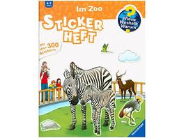 WWW Im Zoo, Stickerheft