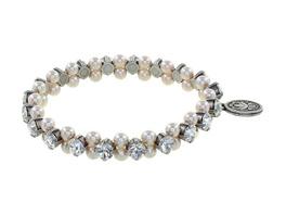 Armband elastisch, Pearl Shadow